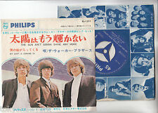 """THE WALKER BROTHERS 7"""" PS Japan THE SUN AIN'T GONNA SHINE ANY MORE S7860"""