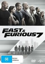 Fast and Furious 7 (DVD, 2015) Paul Walker, Vin Diesel, Jason Statham *BNIP*