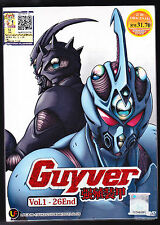 *NEW* GUYVER *26 EPISODES*ENGLISH SUBTITLES*ANIME LOT*US SELLER*
