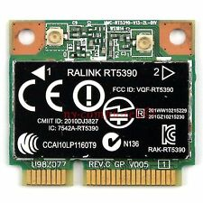RALINK RT5390 HP COMPAQ 691415-001 670691-001 630703-001 HALF-MINI WIRELESS CARD
