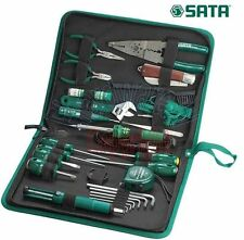 Sata 27Pcs Electronic Carrying Case Tools Set (03760)