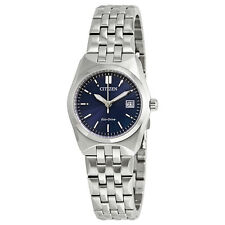 Ladies Corso Eco-Drive Blue Dial Stainless Steel Ladies Watch EW2290-54L