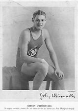 JOHNNY WEISSMULLER NATATION PAUL FRITSCH BOXE BOXING ILLUSTRATIONS 1924