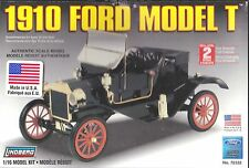 1910 Ford Model T Plastic Model Kit Scale 1 16th by Lindberg Item 72332