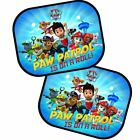 2 Pack Nickelodeon Paw Patrol Folding Car Kids Window Sunshade Filter Shade