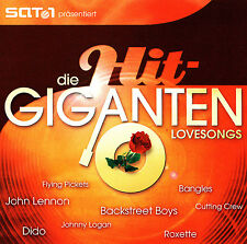 DIE HIT-GIGANTEN - 2 CD - LOVESONGS
