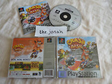 Crash Bash PS1 (COMPLETE) platinum Sony PlayStation rare party game Bandicoot