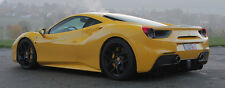 Novitec Matte Black NF4 Forged Wheel and Tire Set - Ferrari 488 GTB Spider