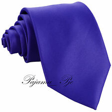 NEW Clearance Sale High Quality Colors Men's Solid Neck Tie Colors Necktie Only