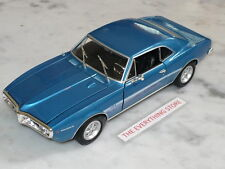 WELLY 67 PONTIAC FIREBIRD 326 H.O. 1:24 BLUE OR SILVER YOU CHOOSE FREE SHIP
