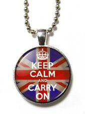 Magneclix magnetic pendant-Keep Calm and Carry On - Union Flag/Jack
