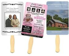 100 Personalized Church Fans, fans personalized church  hand fans