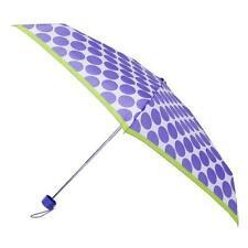 Totes Mini Lavender Spot Thin Umbrella 8063LES Brand New