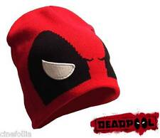Berretta Deadpool angry eyes Beanie Marvel Winter Hat cappello ufficiale