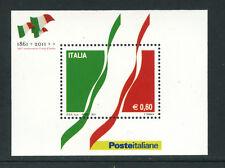 2011 - LOTTO/18564 - REPUBBLICA 150° UNITA' D'ITALIA - FOGLIETTO