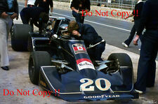 Jacky Ickx Wolf Williams FW05 British Grand Prix 1976 Photograph 2