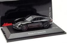 Porsche 911 (991) Carrera GTS Baujahr 2014 schwarz 1:43 Schuco