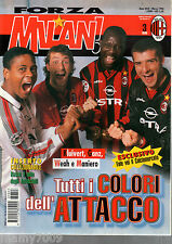FORZA MILAN!=N°3 1998=IL MITO DEGLI INVINCIBILI STAGIONE 91/92 WEAH KLUIVERT