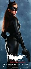 "THE DARK KNIGHT RISES Banner CATWOMAN poster 40x18"" Anne Hathaway Selina Kyle C"