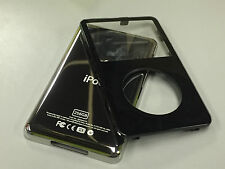 New Black Front Faceplate + 256GB Back Cover Housing for iPod 5th 5.5 Gen Video