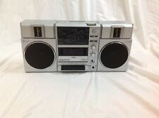 Vintage 80s Sanyo M9815K Boombox Ghetto Blaster Radio Tape Cassette Player AS IS