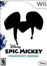 Epic Mickey -- Collector's Edition (Nintendo Wii - Brand New, Factory Sealed!