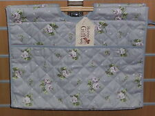Bnwt-hobby gift-dainty LILLA ROSE / Polka Dot design-premium Craft Project BAG