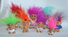 8 Russ Troll Doll Lot Bunny Indian Aerobics New Year Baby American Huggable