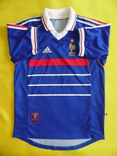 5/5 TEAM FRANCE 1997/1998 HOME MAGLIA SHIRT JERSEY ADIDAS ORIGINAL era Henry