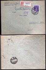 DR 395, 40 Pf.Leibniz a. R-Brief BERLIN  22.3.27
