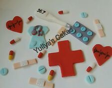 20 Edible doctor/nurse/medical/hospital cake/toppers,shop closed 1/07-15/08