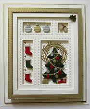 Creative Expressions Sue Wilson Die CHRISTMAS SHADOW BOX CED3071 Festive