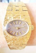 Vintage Swiss Ladies Gold Plated Sandoz 17 Jewels Bracelet Watch for Sale