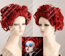 cosplay wig The Red Queen Bloody Mary Alice's Adventures in Wonderland women wig