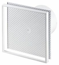 "Bathroom Tiled Extractor Fan Ducting - 100mm / 4"" Kitchen Wall Ventilator WI100"