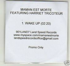 (D295) Maman Est Morte, Wake Up - DJ CD