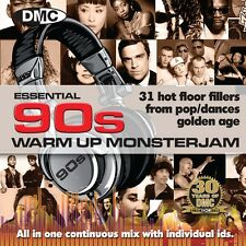 New DMC Essential 90s Warm Up Monsterjam DJ CD - Ivan Santana Megamix Ninties
