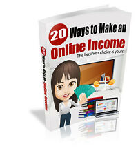 MAKE MONEY FROM HOME -  FAST CASH - 20 WAYS ON HOW TO MAKE MONEY ONLINE