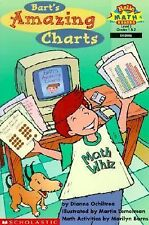 Bart's Amazing Charts Dianne Ochiltree Math Reader Level 3 Graphing Grades 1&2