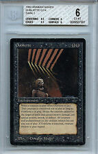 MTG Arabian Nights Oubliette Dark Mana Symbol 1 BGS 6.0 EX-MT Card WOTC 7591
