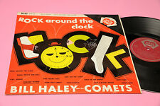 BILL HALEY LP ROCK AROUND THE CLOCK ITALY '60 MONO TOP RARE