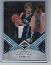 MARC GASOL 2010-11 Panini Limited PATCH #23/25 Grizzlies Jersey 3 Color RARE SP