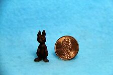 Dollhouse Miniature Chocolate Easter Bunny ~ MUL1699A