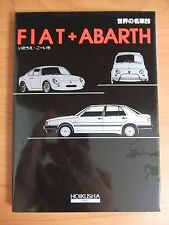 World Famous Car #26 Fiat Abarth Illustrated Encyclopedia Book