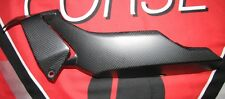 DUCATI 1200 Monster ab2014  Echt Carbon fein MATT Bug Verkleidung links