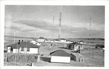 A5  CANADA Ontario Postcard RPPC NW Territory Royal Canadian Communication 1943