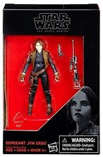 "STAR WARS THE BLACK SERIES SERGEANT JYN ERSO ROGUE ONE 3.75"" ACTION FIGURE DE"