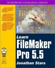 Learn FileMaker Pro 5.5 (With CD-ROM)
