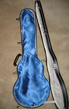 GUITAR LINGERIE~ROYAL BLUE SATIN GUITAR SHROUD *FOR A GIBSON LES PAUL CASE
