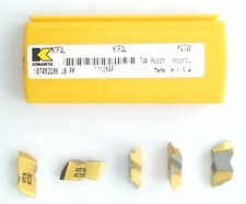 NTF3L KC720 TOP NOTCH KENNAMETAL PACK OF 5 INSERTS ***FACTORY PACK***